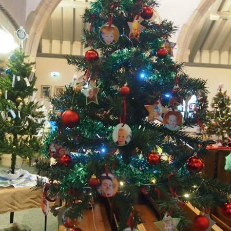 St Martin's Sunday School Christmas Tree Festival 2014