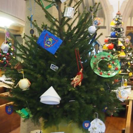 St Martins CL&CG Brigade Christmas Tree Festival 2014