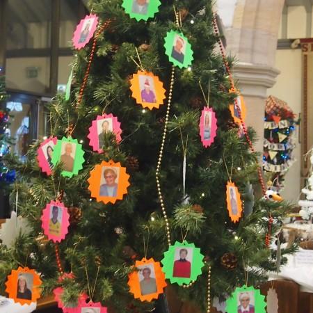 St Martins Charity Shop Christmas Tree Festival 2014
