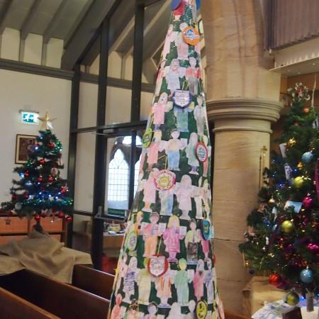 Castleton Primary School Christmas Tree Festival 2014