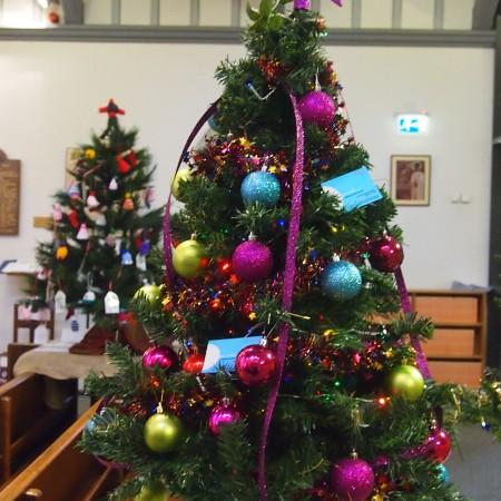 Lucy Amelia Bridal Christmas Tree Festival 2014