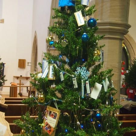 St Martins Mothers Union Christmas Tree Festival 2014