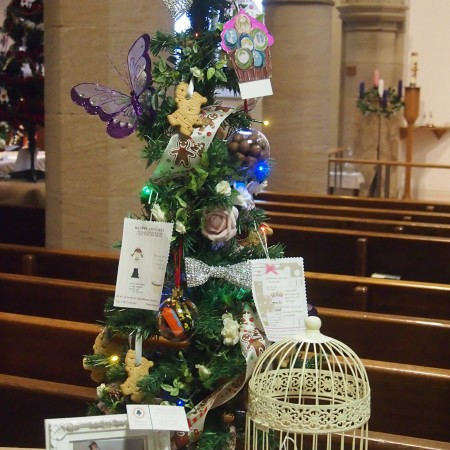 Drapes & Cakes Christmas Tree Festival 2014