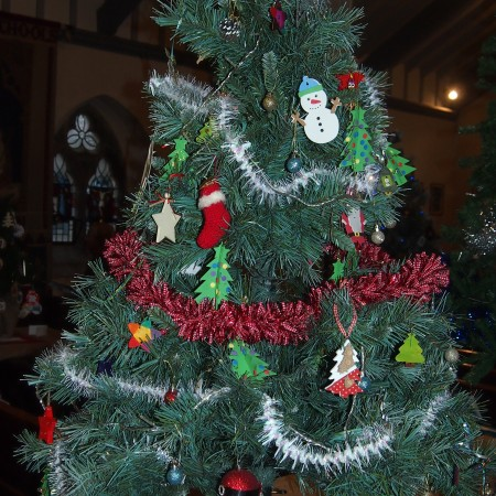 Methodist Church Children Christmas Tree Festival 2014