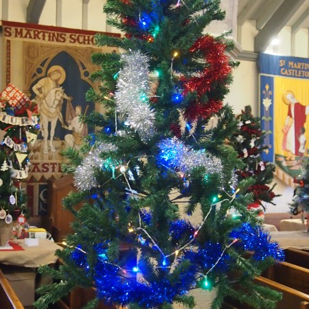 Castleton Youth Club Christmas Tree Festival 2014