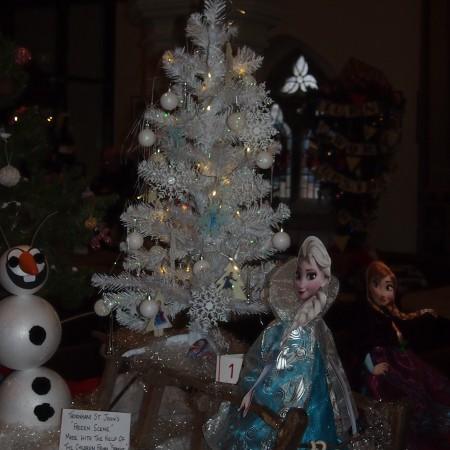 St Johns Thornham Christmas Tree Festival 2014
