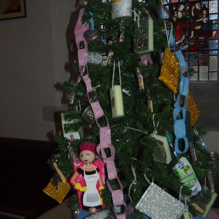 Tina Pilkington Cleaning Services Christmas tree Festival 2014