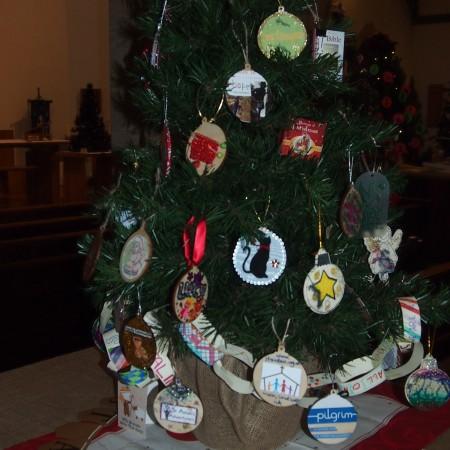 St Aidans Church Christmas Tree Festival 2014