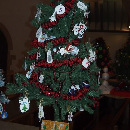 St Martins Toddler Group Christmas Tree Festival 2014